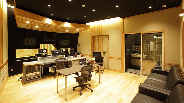 レコーディングスタジオB|サウンドクルースタジオ